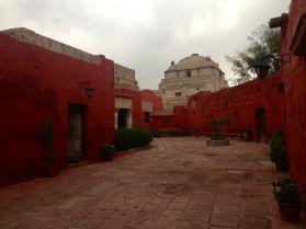 Monasterio Di Santa Catalina Red Walls