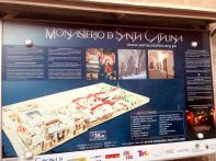 Monasterio Di Santa Catalina Sign