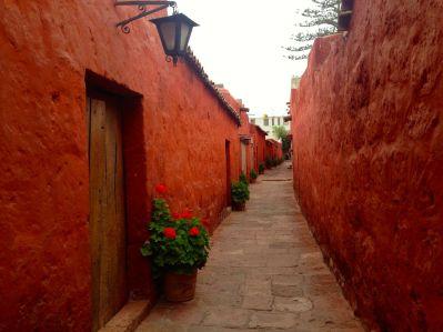 Monasterio Di Santa Catalina Walkway