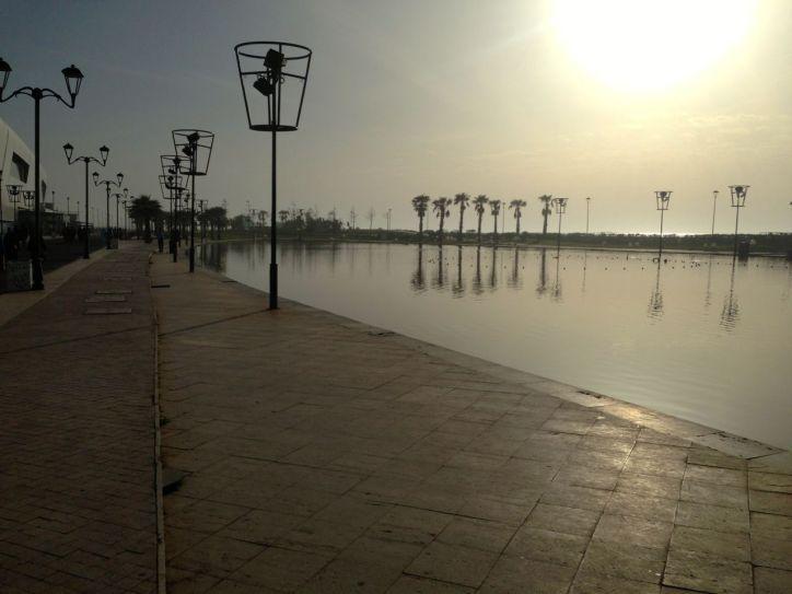 Morocco Mall walkway
