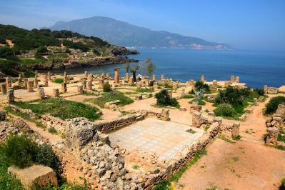 Tipaza Ruins View