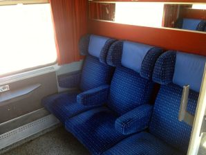 Train to Fez first class seats
