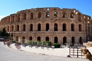 El Djem Amphitheater Front
