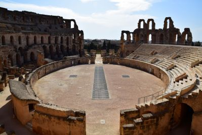 El Djem Amphitheater Perspective