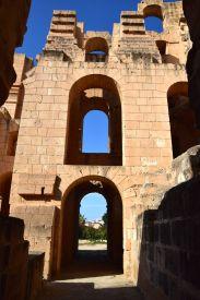El Djem Amphitheater Sky