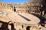 El Djem Amphitheater Stadium View