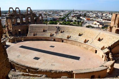 El Djem Amphitheater Top View
