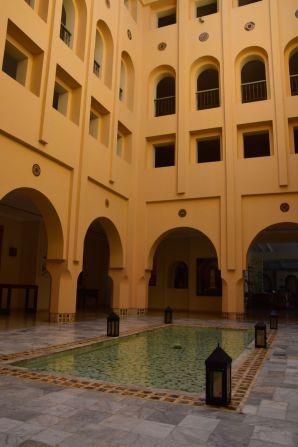 Residence Tunis Courtyard