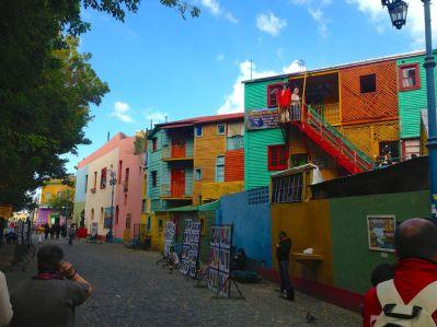 Buenos Aires La Boca Street