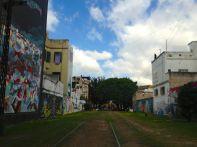 Buenos Aires La Boca Train Tracks