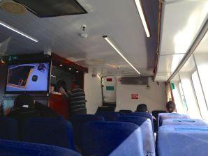 Colonia Express Ferry Interior