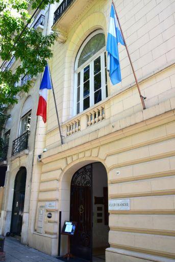 Hotel Club Frances Buenos Aires Entrance