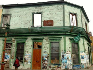 Iquique Baquedano Street Hollowed Building