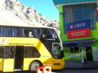 Mendoza to Santiago Los Libertadores Border Crossing Bus Arrival