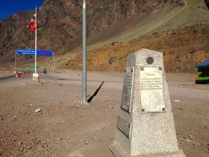 Mendoza to Santiago Los Libertadores Border Crossing Monument