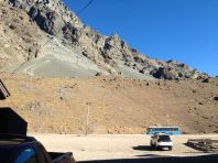 Mendoza to Santiago Los Libertadores Border Crossing Mountain