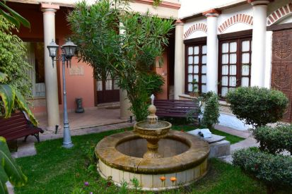 Mi pueblo Samary Courtyard Fountain