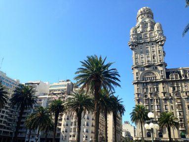 Montevideo Plaza Independencia Palacio Salvo
