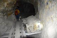 Potosi Mine Tour Inside Rail