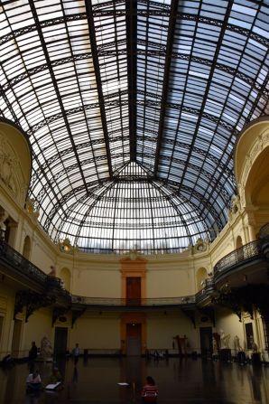 Santiago Museo Bellas Artes Ceiling