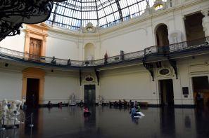 Santiago Museo Bellas Artes Interior
