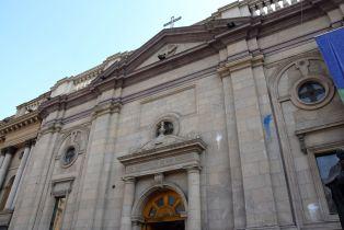 Santiago Plaza de Armas Catedral Metropolitana de Santiago Exterior
