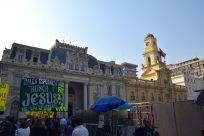 Santiago Plaza de Armas Preachers