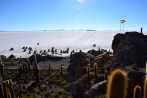 Uyuni Salt Flats Isla Incahuasi Cars