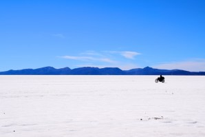 Uyuni Salt Flats Motorcycle