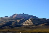 Uyuni Salt Flats Volcano