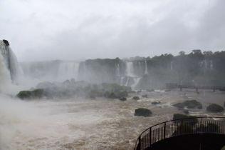 Iguacu Falls Mist