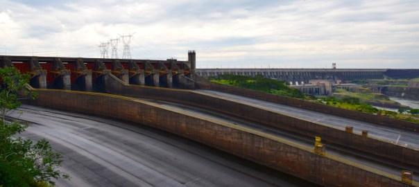 Itaipu Dam Header