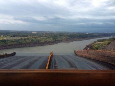 Itaipu Dam View