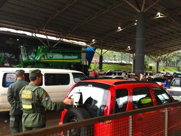 Paraguay Border Check