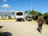 Capital Coach LIne Office UN truck