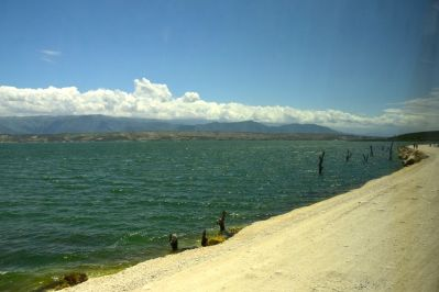 Haiti Dominican Republic Border Lake Road