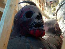 Iron Market Port-au-Prince Real Skull