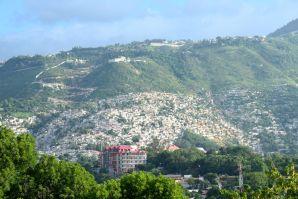 Port-au-Prince Slums Close Up