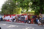 Port-au-Prince Street shoe vendor