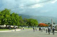 Port-au-Prince Street students