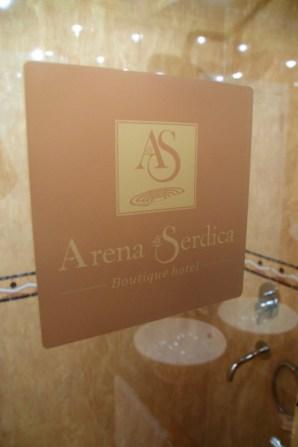 Arena di Serdica Room Bathroom Shower
