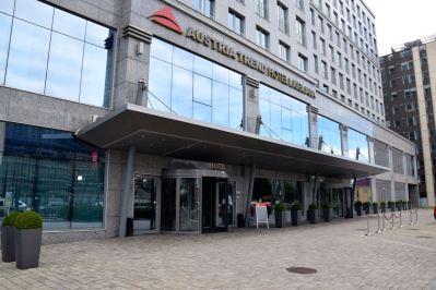 Austria Trend Hotel Entrance