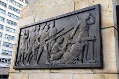 Dar es Salaam Askari Monument Engraving