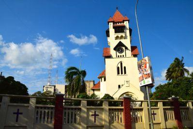 Dar es Salaam Azania Front Lutheran Church Close
