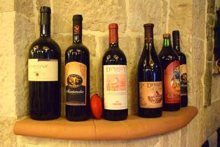 Dinasty Hotel Tirana Restaurant Wine Selection