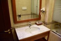 Dinasty Hotel Tirana Room Sink