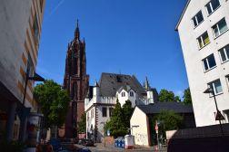 Frankfurt Cathedral Exterior