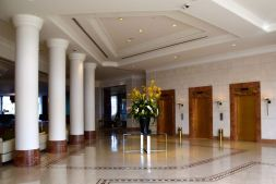 Grand Hyatt Amman Lobby Elevators