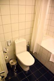 Hotel Kaunas Room Bath Toilet