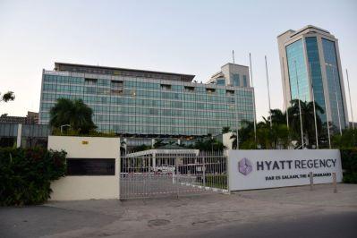 Hyatt Regency Dar es Salaam Exterior Building